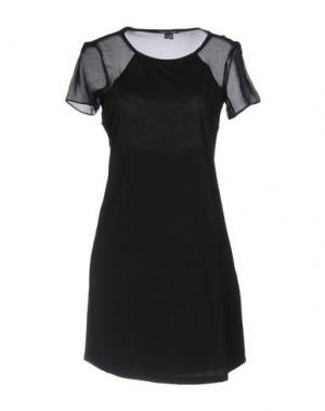 Короткое платье THEYSKENS' THEORY. Цвет: черный