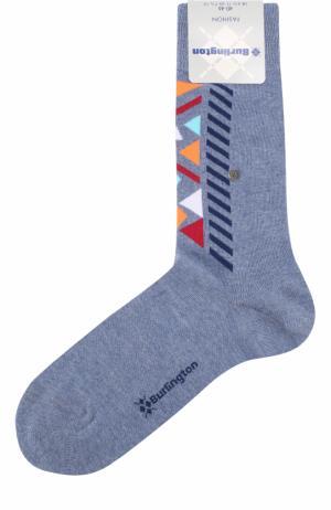 Хлопковые носки Fashion Burlington. Цвет: голубой