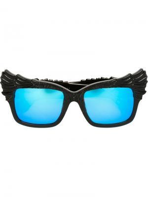 Солнцезащитные очки  Escapist Anna Karin Karlsson. Цвет: чёрный