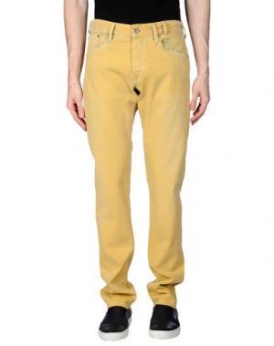 Джинсовые брюки PEPE JEANS 73. Цвет: охра