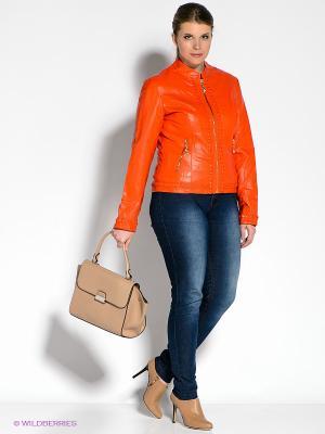 Куртка Wake Up. Цвет: оранжевый