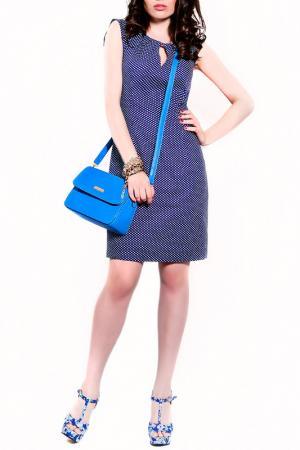 Платье MONT PELLIER. Цвет: синий, сердечко