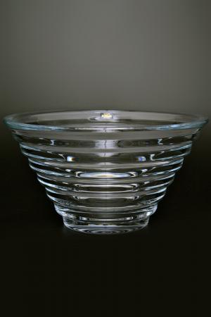 Салатник 28 см Crystalite Bohemia. Цвет: прозрачный