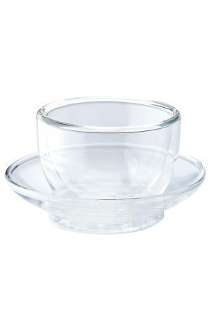Чашка с блюдцем, 75 мл STAHLBERG. Цвет: мультицвет