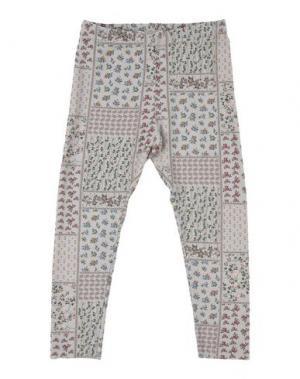 Повседневные брюки LE PETIT COCO. Цвет: бежевый