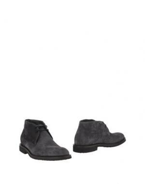 Полусапоги и высокие ботинки SEBASTIAN. Цвет: стальной серый