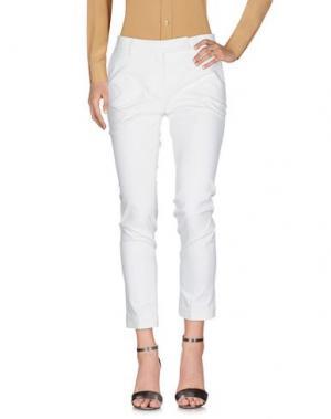 Повседневные брюки VIA MASINI 80. Цвет: слоновая кость