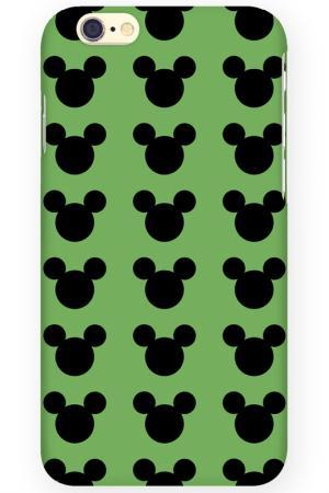 Чехол для IPhone 6 MITYA VESELKOV. Цвет: черный, зеленый