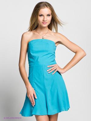 Платье Verezo. Цвет: лазурный