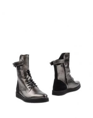 Полусапоги и высокие ботинки SWEAR-LONDON. Цвет: стальной серый