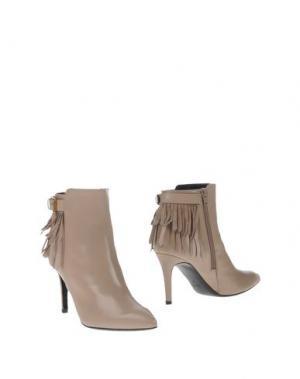 Полусапоги и высокие ботинки ANDREA CATINI. Цвет: светло-серый