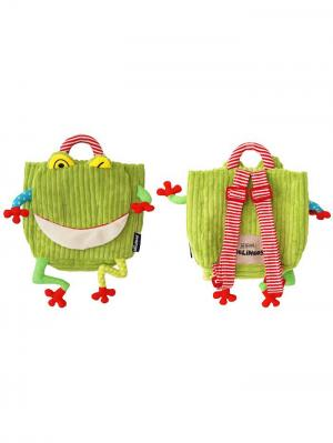 Игрушка Deglingos Лягушонок Croakos - рюкзачок. Цвет: зеленый