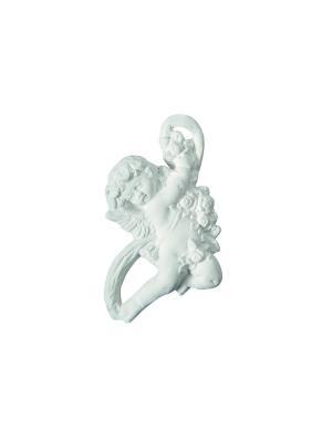 Ароматические украшения Ангелок с лентой Т2, аромат Рисовая Пудра Mathilde M. Цвет: белый