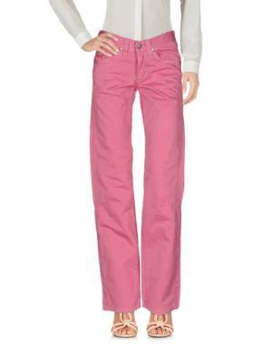 Повседневные брюки JAGGY. Цвет: светло-фиолетовый