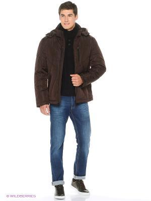 Куртка Snow Guard. Цвет: коричневый