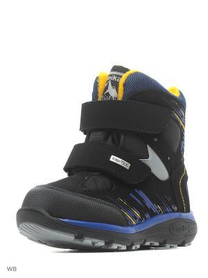 Ботинки Kapika. Цвет: черный, желтый, синий