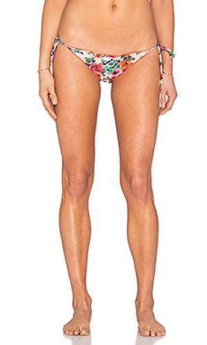 Низ бикини ripple Vix Swimwear. Цвет: коралл