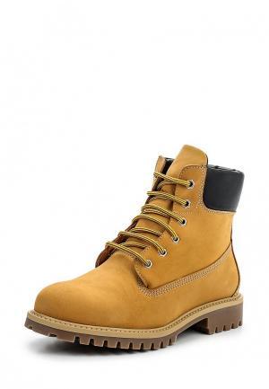 Ботинки Ralf Ringer. Цвет: желтый