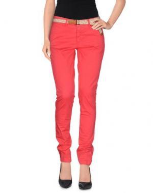 Повседневные брюки FRANKLIN & MARSHALL. Цвет: коралловый