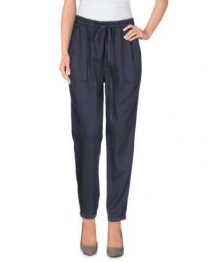 Повседневные брюки REIKO. Цвет: свинцово-серый