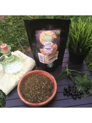 Травяной скраб Крапива и черная смородина с маслом Рисовых Отрубей, 200 гр Grosheff. Цвет: зеленый