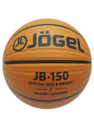 Мяч баскетбольный Jogel JB-150 №7. Цвет: коричневый
