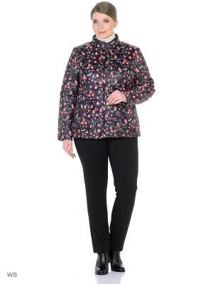 Куртка Modis. Цвет: серо-коричневый, коралловый