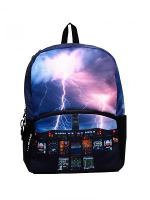 Рюкзак Storm, цвет мульти Mojo Backpacks. Цвет: фиолетовый, черный
