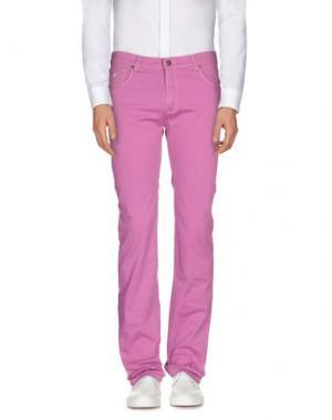 Повседневные брюки BROOKSFIELD. Цвет: пурпурный