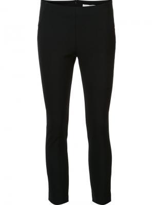 Узкие брюки Veronica Beard. Цвет: чёрный