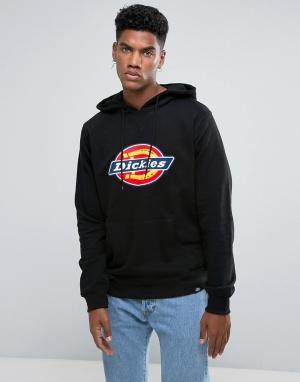 Dickies Худи черного цвета с большим логотипом Nevada. Цвет: черный