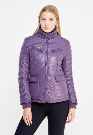 Куртка утепленная Trussardi Collection. Цвет: фиолетовый