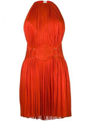 Платье Chalaya Maria Lucia Hohan. Цвет: красный