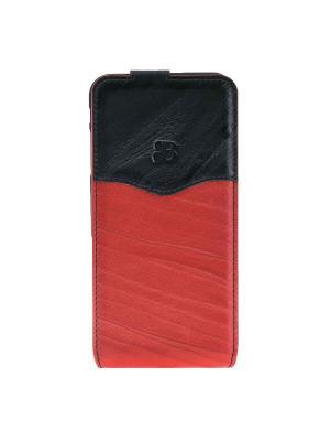 Чехол флип iPhone 7 Plus Burkley. Цвет: красный