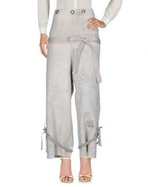 Повседневные брюки GREG LAUREN. Цвет: бежевый