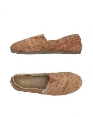Низкие кеды и кроссовки PAEZ. Цвет: песочный