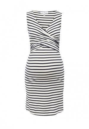 Платье домашнее Envie de Fraise. Цвет: белый
