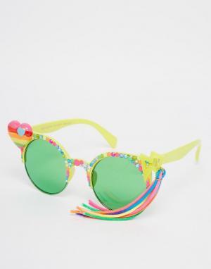 Spangled Солнцезащитные очки с кисточкой I Heart Rainbows