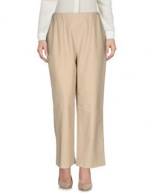 Повседневные брюки ANDREA INCONTRI. Цвет: бежевый