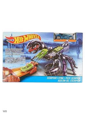 Трассы среднего ценового сегмента Hot Wheels. Цвет: синий