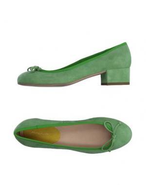 Туфли ALBERTO MORETTI. Цвет: светло-зеленый