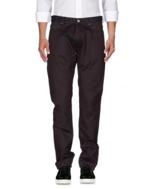 Джинсовые брюки MARC BY JACOBS. Цвет: баклажанный
