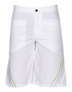 Пляжные брюки и шорты EMPORIO ARMANI SWIMWEAR. Цвет: белый