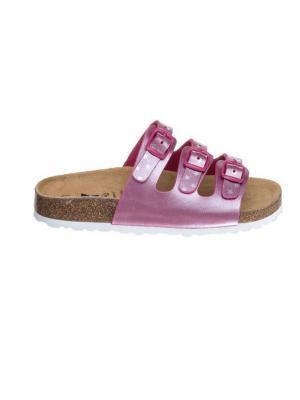Пантолеты Lico. Цвет: розовый, серебристый