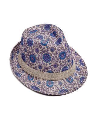 Шляпа Kameo-bis. Цвет: бежевый, синий, фиолетовый