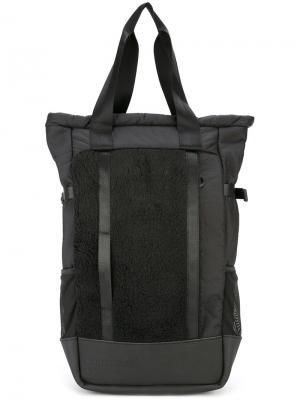 Рюкзак с верхними ручками Cottweiler. Цвет: чёрный