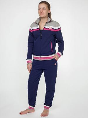 Пижама Renato Balestra. Цвет: синий, серый, фуксия, розовый