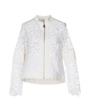 Куртка JIJIL. Цвет: белый