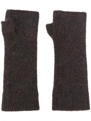 Митенки Isabel Marant. Цвет: коричневый
