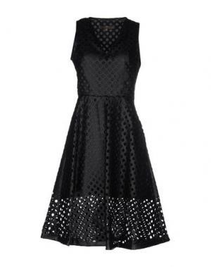 Платье до колена SPACE STYLE CONCEPT. Цвет: черный